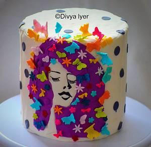 Colorful dreams  - Cake by Divya iyer