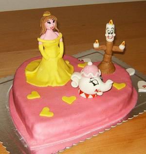 Disney princess - Bella - Cake by Ana