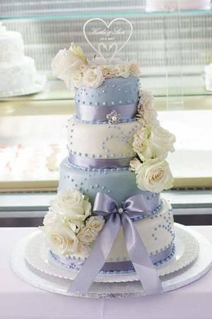 Wedding cake  - Cake by Kejkyodmajky
