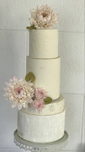 Torta de bodas 💕 - Cake by Griselda de Pedro
