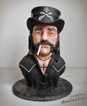 Lemmy Kilmister / Motörhead - Cake by FondanEli