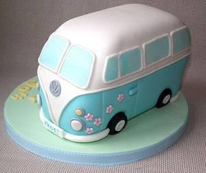VW Camper Van Cake - Cake by Dollybird Bakes