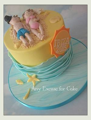 Ibiza 2015 - Cake by Any Excuse for Cake