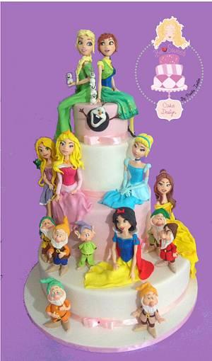 Torta Principesse - Cake by BeSweet