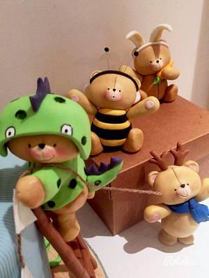 Forever friends birthday cake - Cake by donatellacakes72