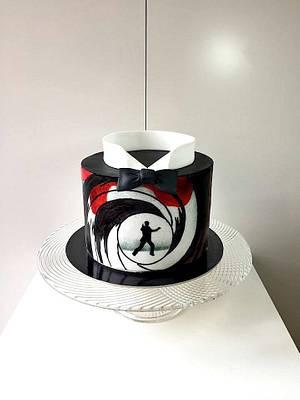 James Bond cake - Cake by Frufi