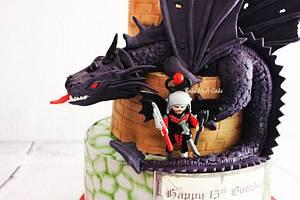 Dragon - Cake by Farzana