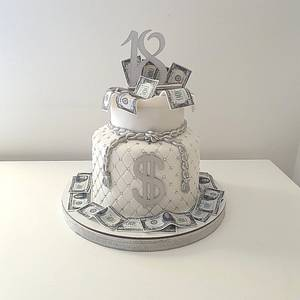 Money bag cake💰 - Cake by TORTESANJAVISEGRAD