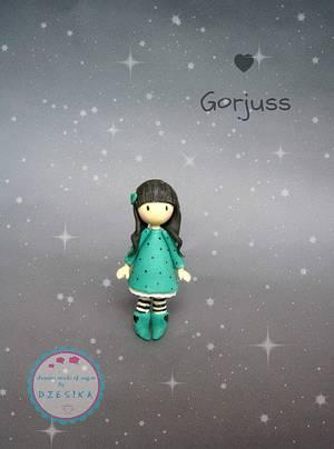Gorjuss gumpaste cake topper - Cake by Dzesikine figurice i torte