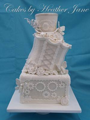 Steampunk Elegance - Cake by Cakes By Heather Jane