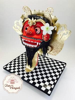 Barong Sugar Myths And Fantasies Global Edition - Cake by Rifera Pawlowski
