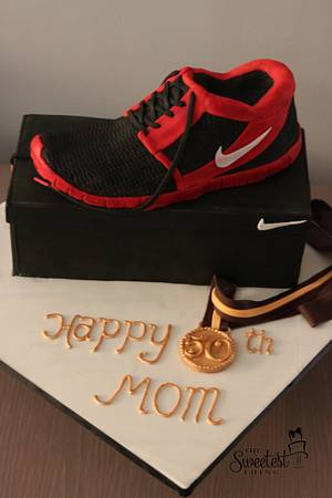 Nike Shoe Cake - Cake by The Sweetest Thing