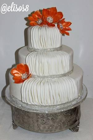 Magnolias & Drapes - Cake by Elisos