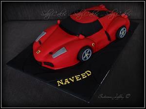 Ferrari Cake - Cake by SabzCakes