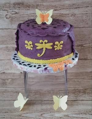 "Definitely Purple - Cake by June (""Clarky's Cakes"")"