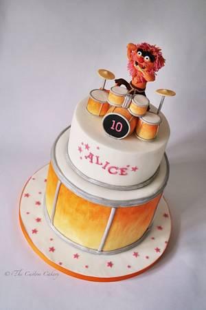 Animal! - Cake by The Custom Cakery