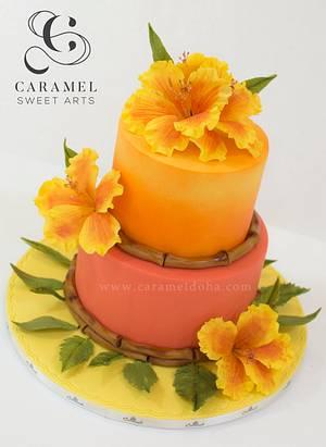 Hawaiian Cake - Cake by Caramel Doha