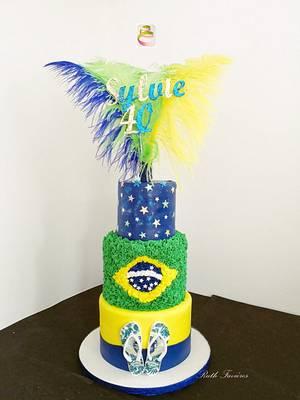 Brasil! - Cake by Ruth - Gatoandcake