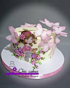 Christening cake - Cake by Radmila