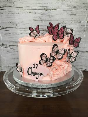 Butterfly dream - Cake by Catherine
