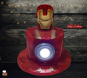Ironman cake with light  - Cake by Gele's Cookies