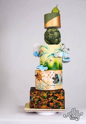 The creamy dream.... - Cake by TheCakeTalk
