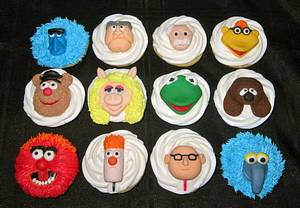 Muppets Cupcakes - Cake by Cuteology Cakes