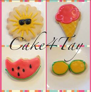 Summer Cookies - Cake by Angel Chang