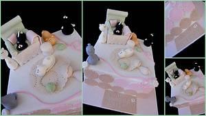 Crazy cat lady cake - Cake by Veronika