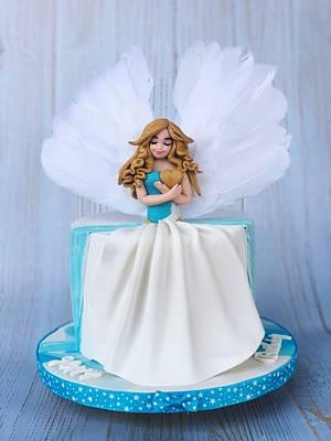 Pretty angel - Cake by Razia