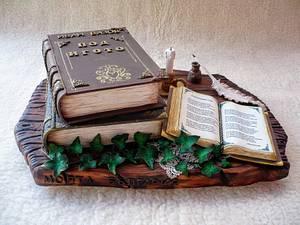 books cake - Cake by Betina