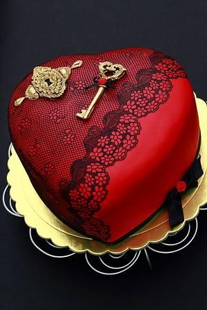 You've got the key to my heart - Cake by laskova