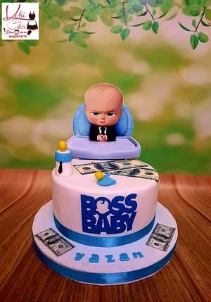 """""""Baby Boss cake"""" - Cake by Noha Sami"""