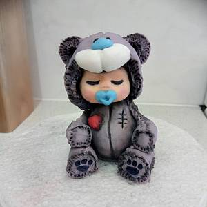 Teddy Bear Baby - Cake by Jewels Cakes