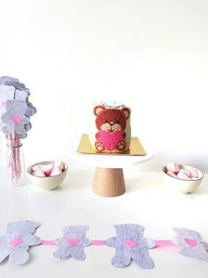 Teddy bear  - Cake by Gimena