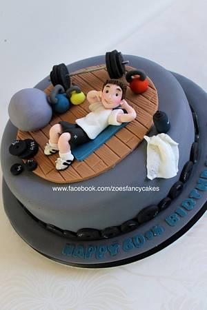 Gym cake - Cake by Zoe's Fancy Cakes