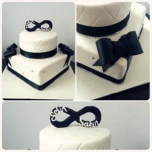 Engagement Cake - Cake by PastaLaVistaCakes