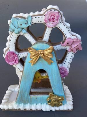 Carrusel de bebé móvil  - Cake by Yolanda