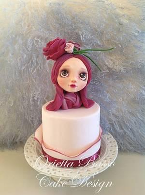 Fuchsia - Cake by Orietta Basso