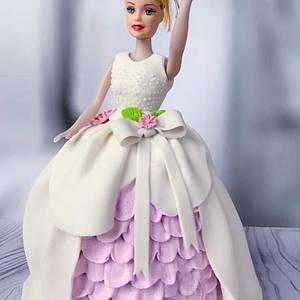 Doll cake - Cake by Razia