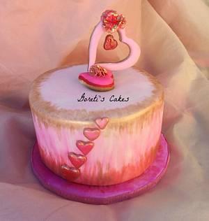 Family's Valentine's Day Cake - Cake by Goreti