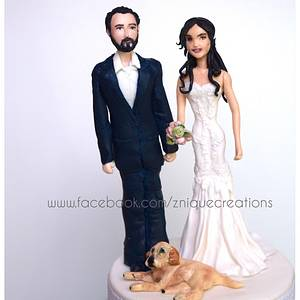 Cake topper - Cake by Znique Creations