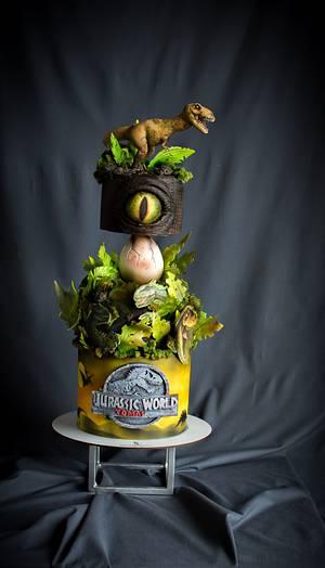 Jurassic Park cake - Cake by Sayi Congregado
