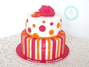 Birthday cake - Cake by CupcakeCity