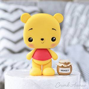 Winnie the Pooh Cake Topper - Cake by Crumb Avenue