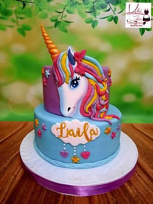 """Unicorn Cake"" - Cake by Noha Sami"
