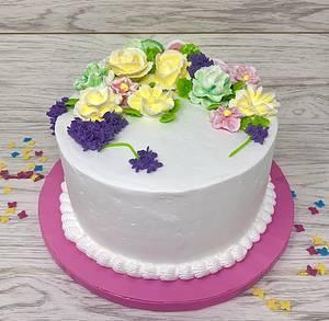 Garden Cake - Cake by IlsognodiAnnette