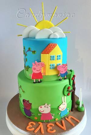 Peppa and friends - Cake by Mania M. - CandymaniaC