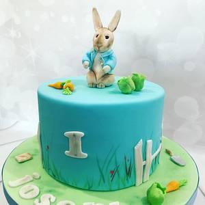 Peter Rabbit - Cake by bakemydayiom