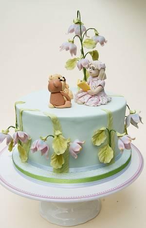 Little girl and teddies - Cake by Katarzynka